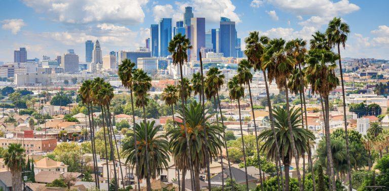 Los Angeles sky line